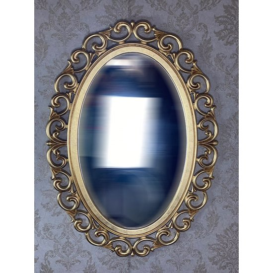 Oglinda clasica stil baroc aurie 110x80cm