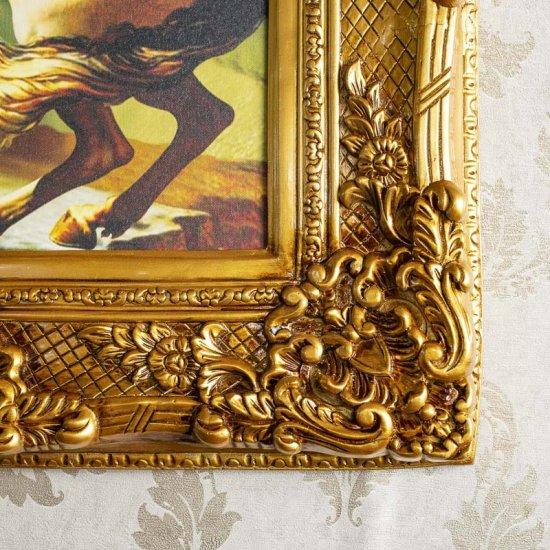 Tablou auriu 74x84cm, imagine panza canvas