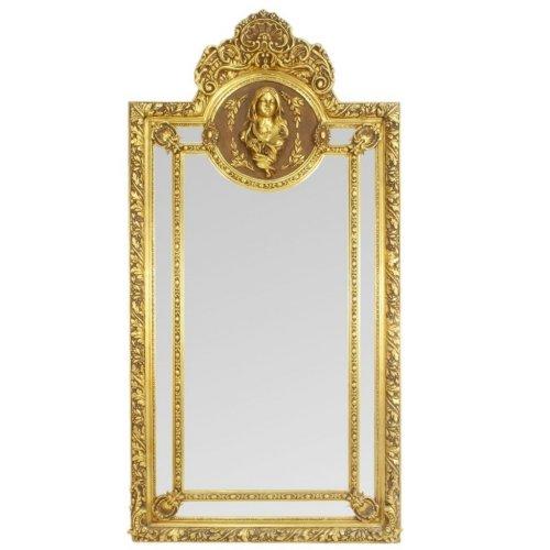 Oglinda baroc ANGEL XXL aurie 220cm x 115cm