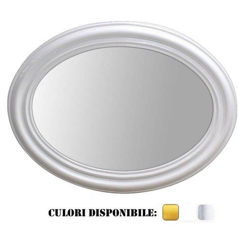 Oglinda ovala clasica in stil baroc