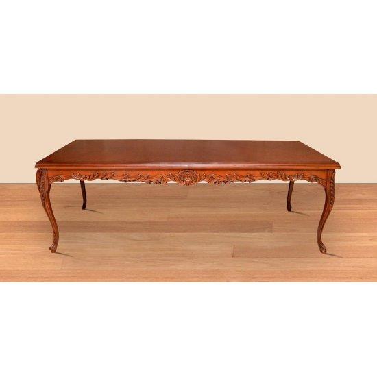 Masa maro clasica stil baroc din lemn masiv - 250 cm