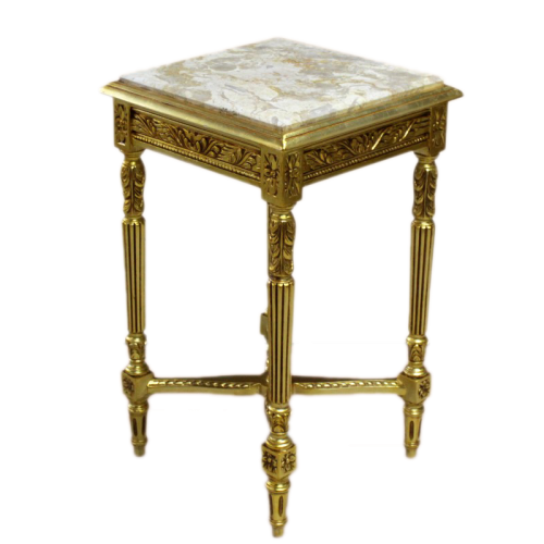 Masuta aditionala aurie clasica stil baroc 43cm x 43cm