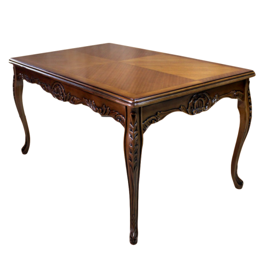 Masa maro clasica stil baroc din lemn masiv - 160 cm