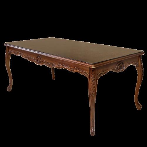 Masa maro clasica stil baroc din lemn masiv - 200 cm