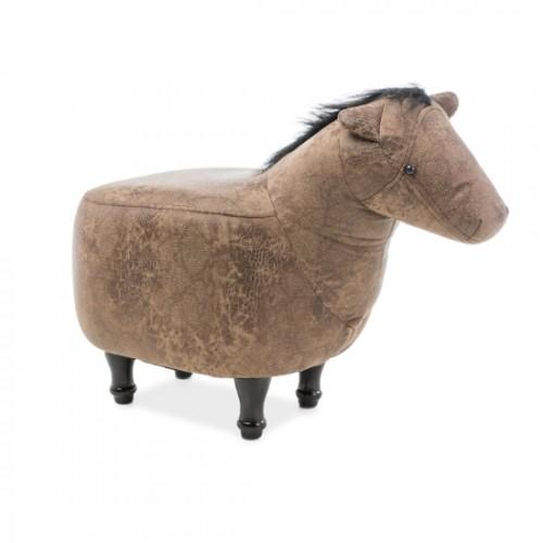 Pufic copii maro ''HORSE''