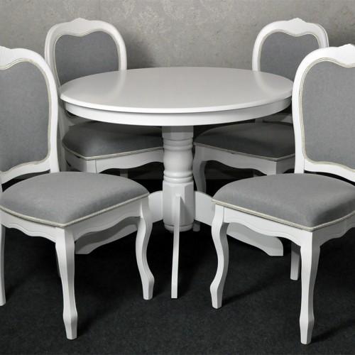 SET Masa rotunda + 4 scaune stil clasic