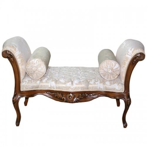 Banchetica clasica baroc cadru maro - tapiterie regal