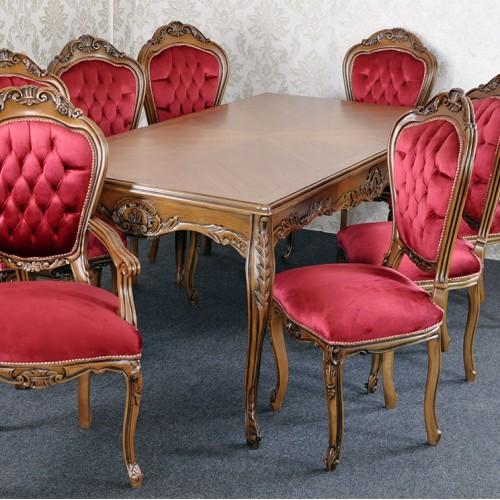 SET Masa + 8 scaune Luxury clasice baroc